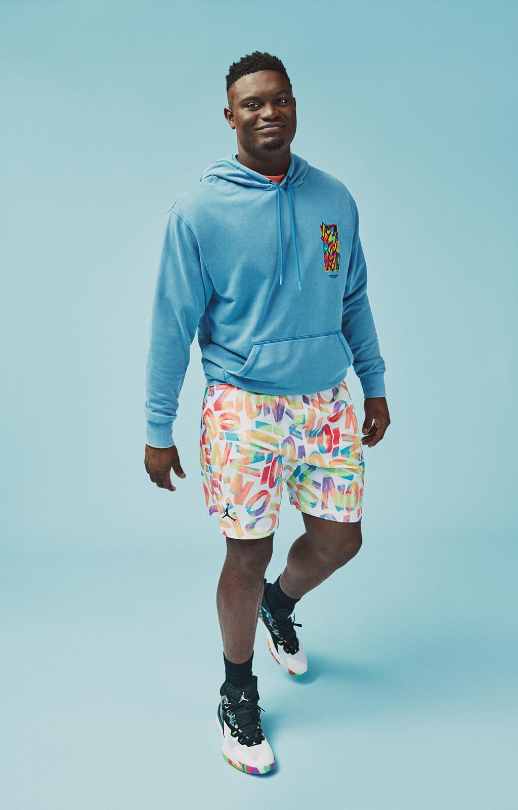 Коллекция одежды Zion x Jordan