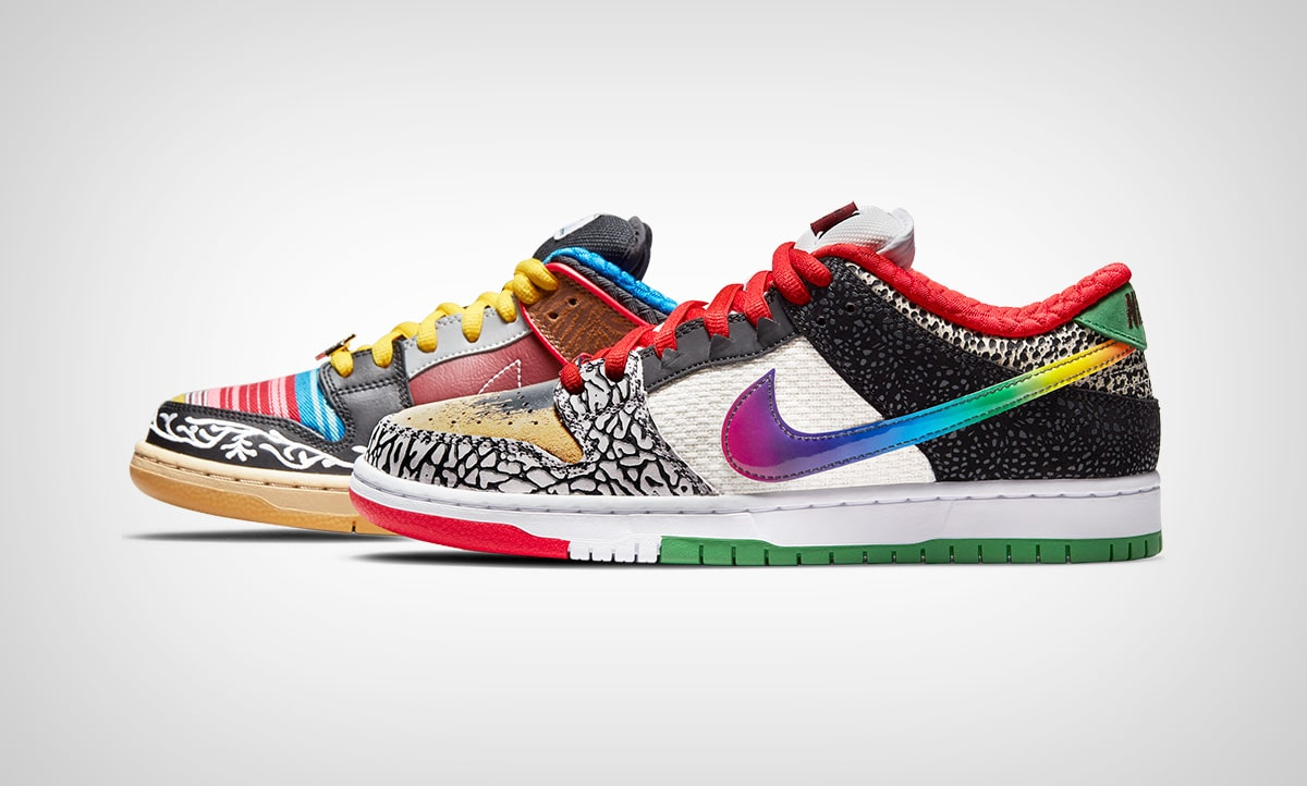 SB Dunk Low «What The Paul»