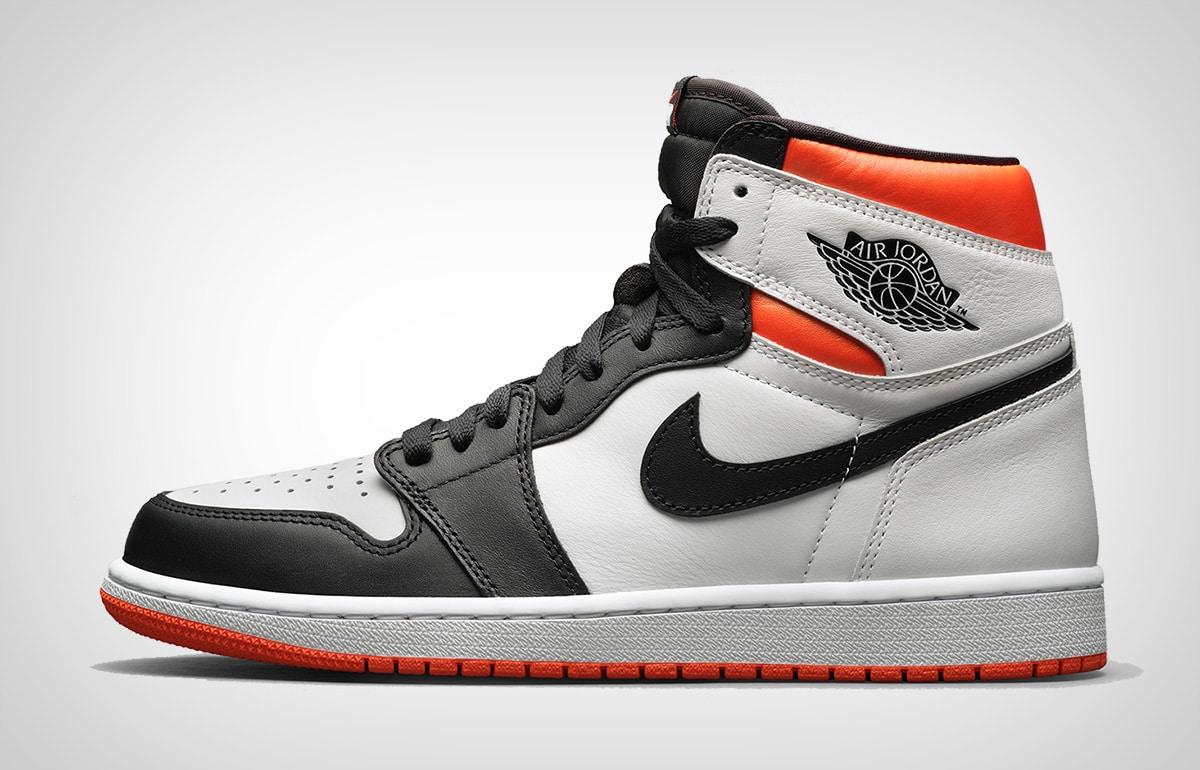 Air Jordan I HI OG Electro Orange