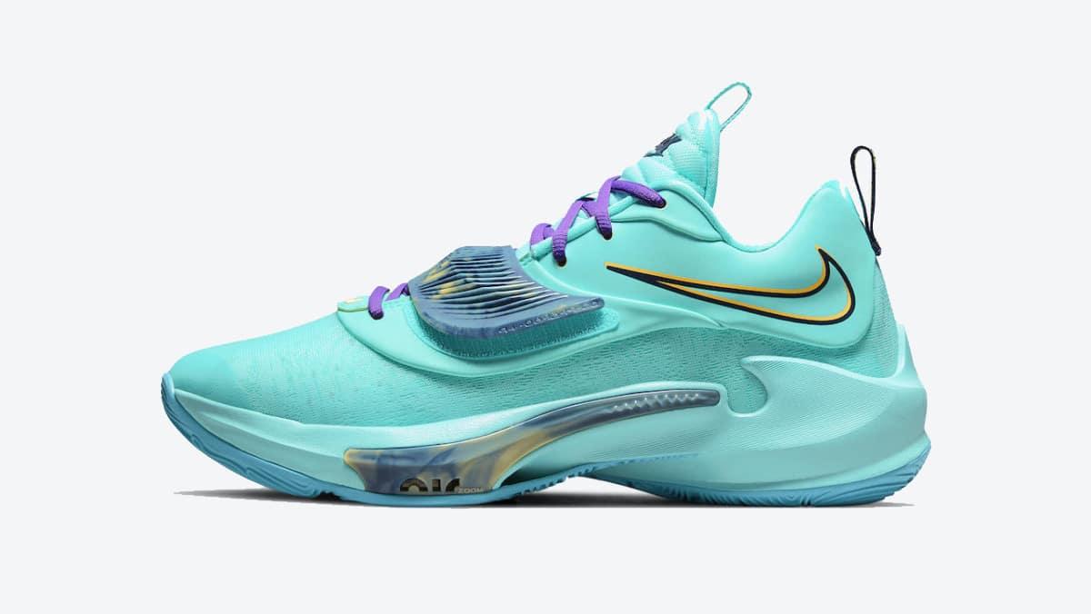Nike Zoom Freak 3 Aqua