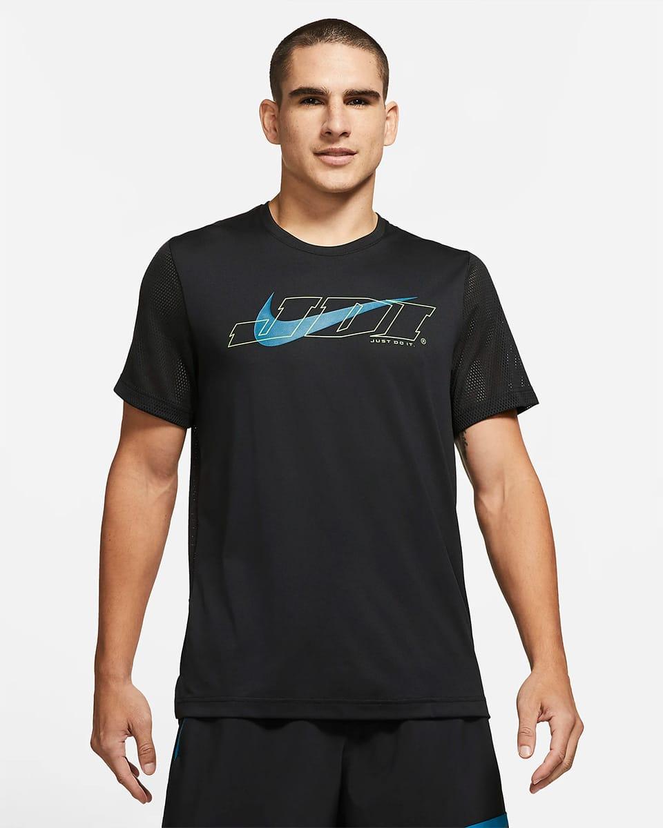 Черная футболка JDI