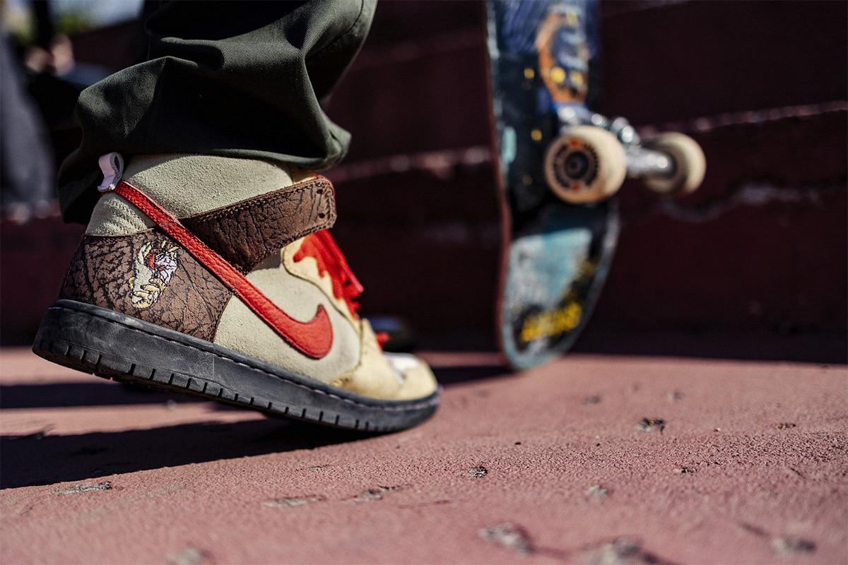 Кроссовки для скейтбординга