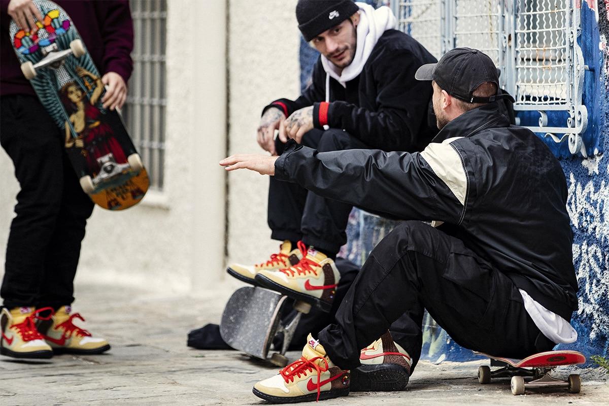 Компания скейтеров