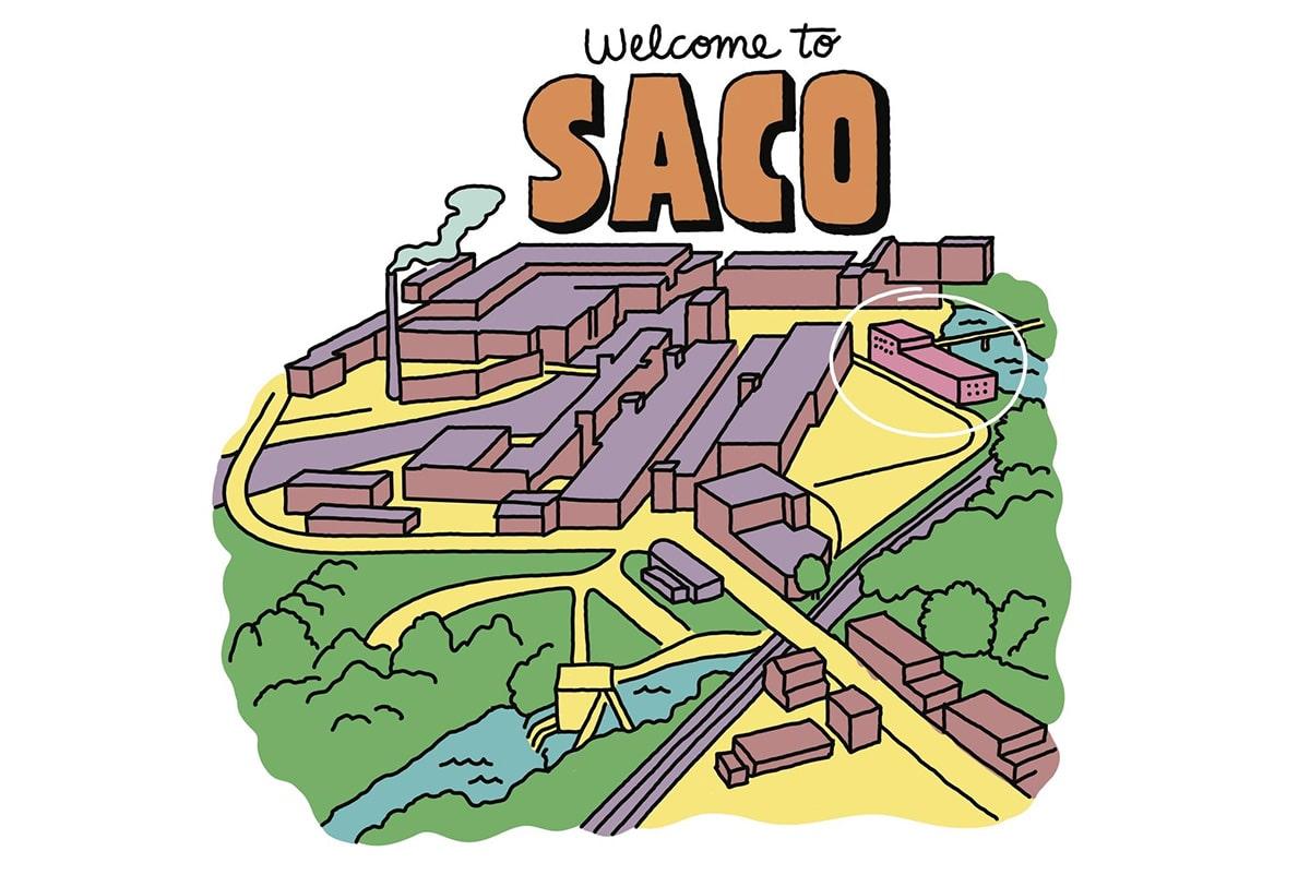 Здание 108 в Сако, штат Мэн