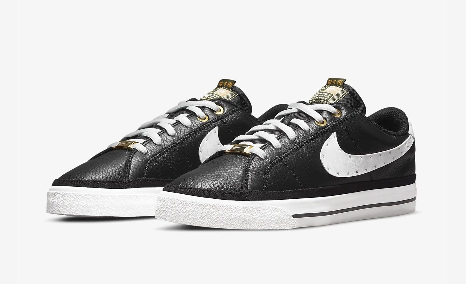 Чёрные Nike Court Legacy SWDC