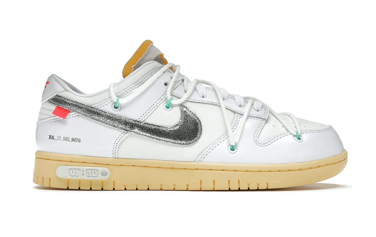 Nike Dunk Low Off-White Lot 01