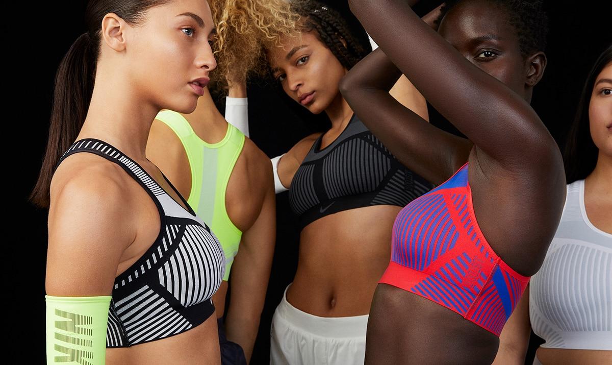 Спортивные бра Nike