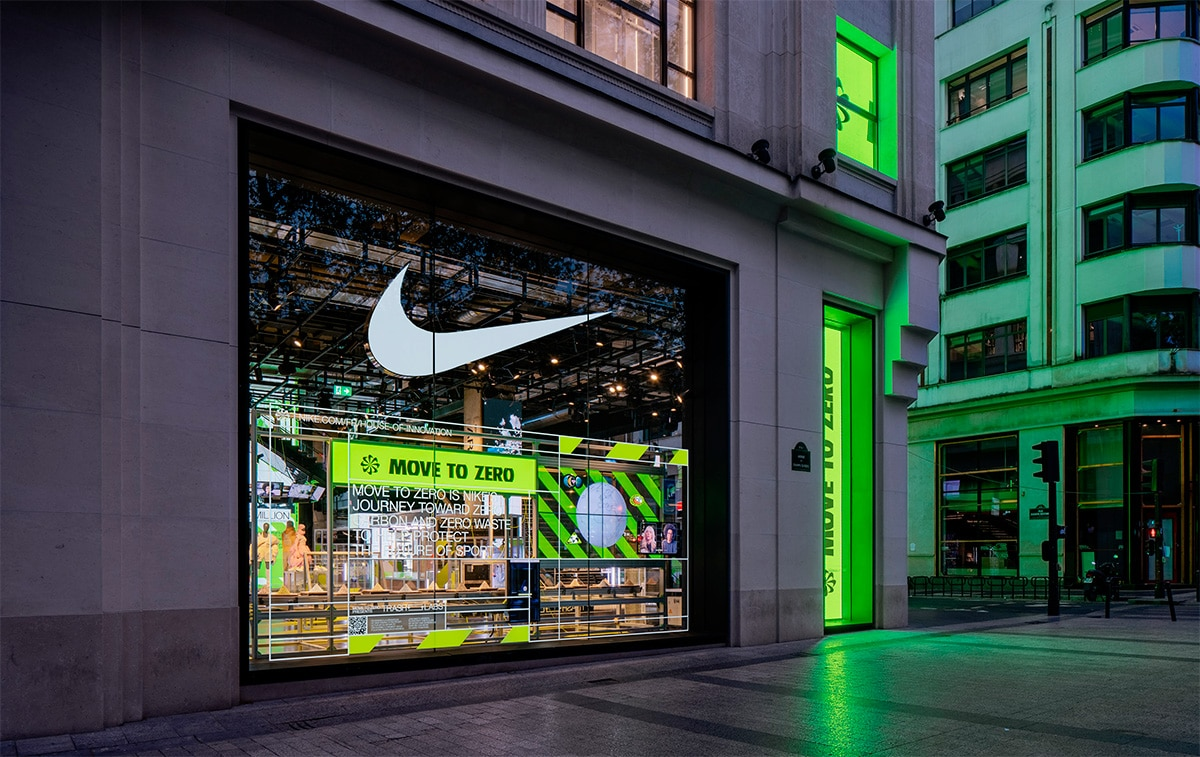 Эко технологии Nike