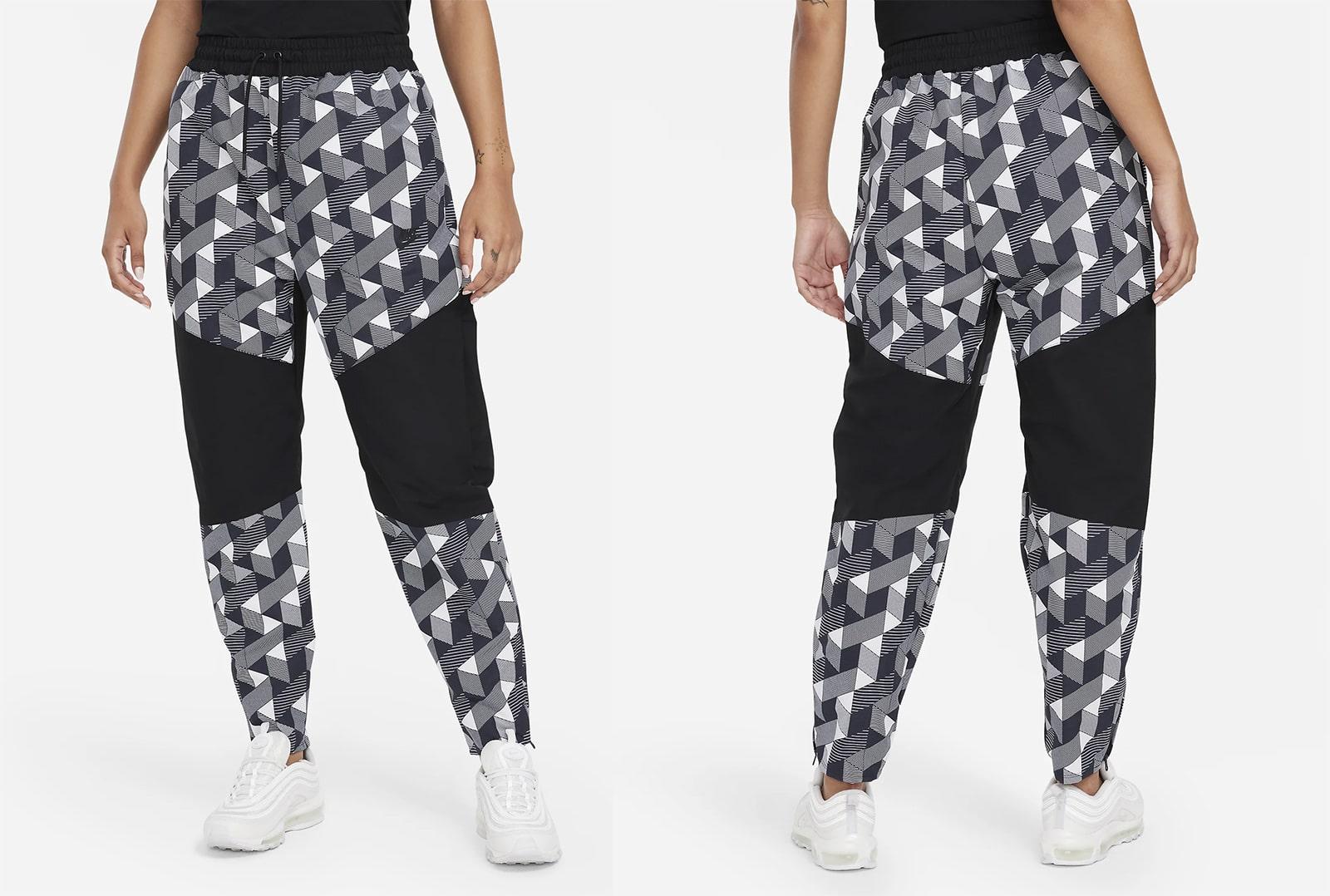 Женские тканые брюки