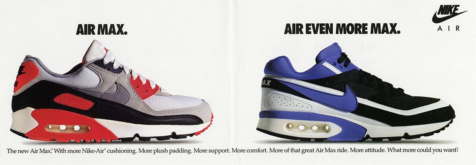 Air Max 90 и Air Max BW