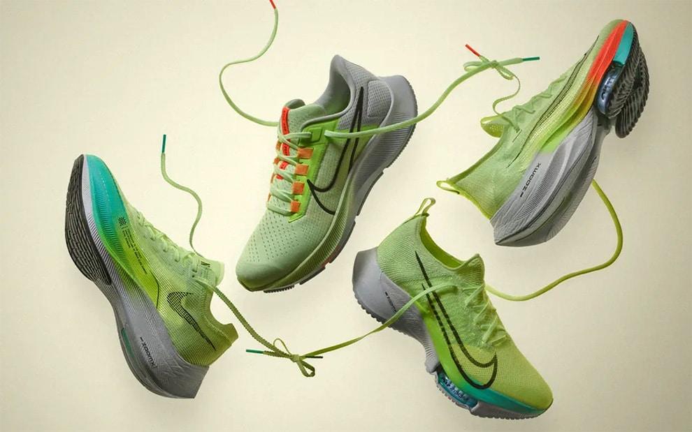 Линейка беговой обуви Nike