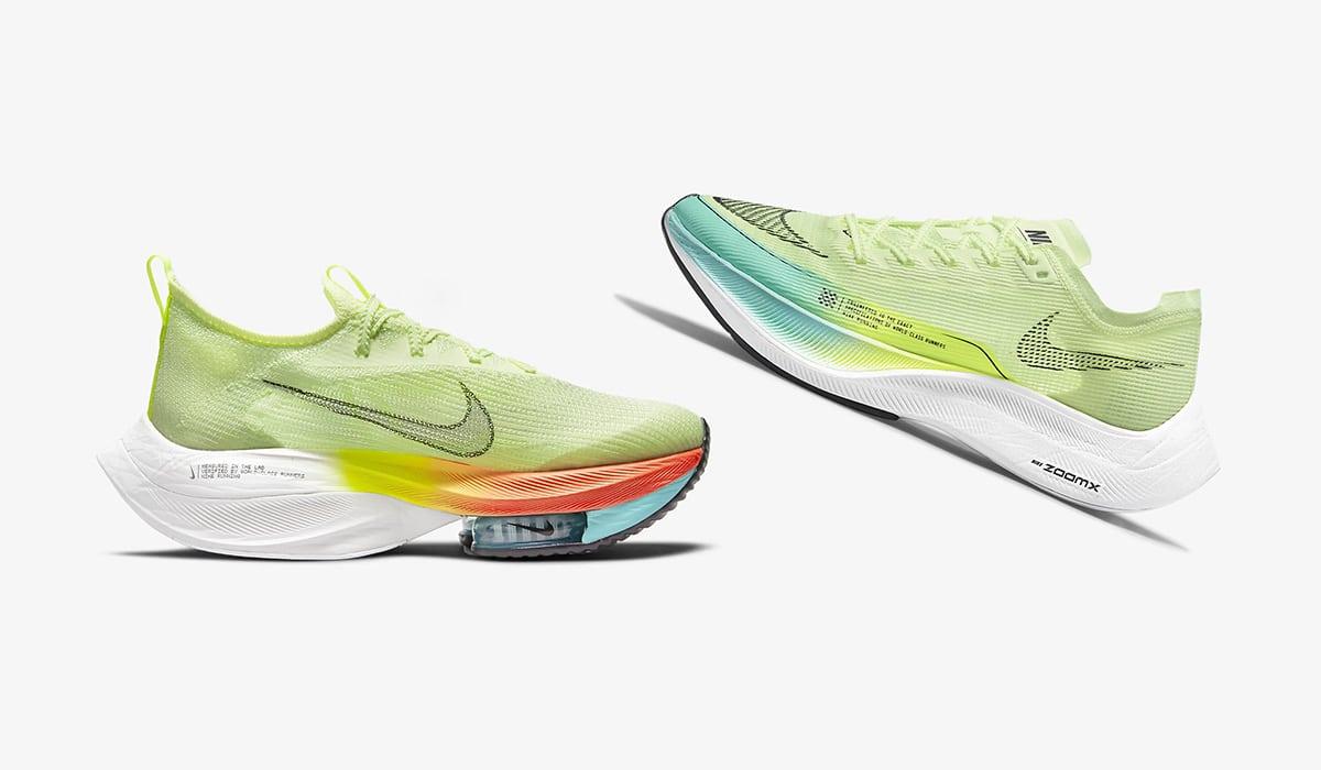 Nike Alphafly и Vaporfly 2